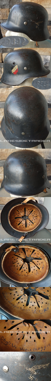 M35 Luftwaffe SE64 DD Combat Helmet