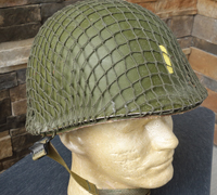 US MI Helmet w Netting