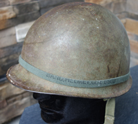 US WWII M1 swivel bail Combat Helmet