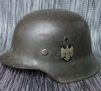 Single Decal M42 Army Helmet by ET64