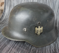 M35 NS66 SD Depot Refurbished Army Helmet