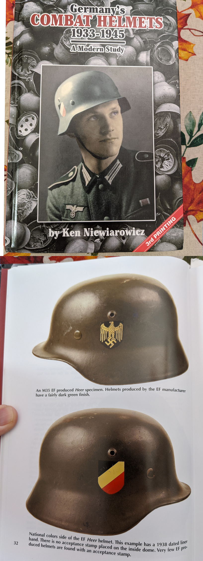 Textbook M35 EF66 DD Army