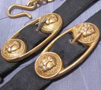 Navy Dagger Hangers