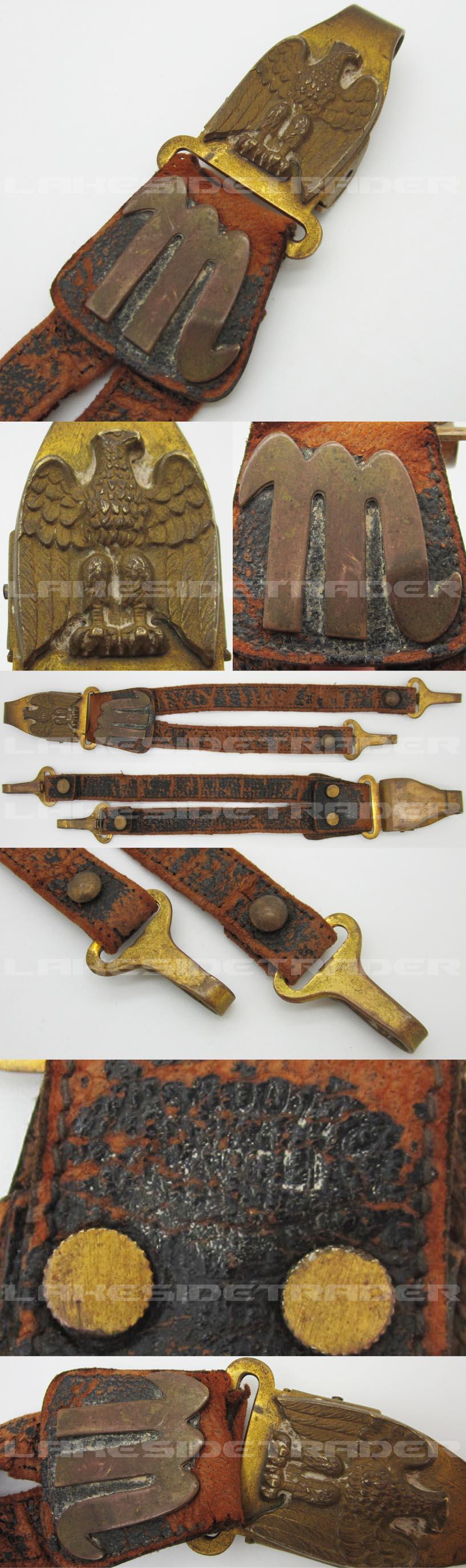 Italian MVSN Dagger Hangers