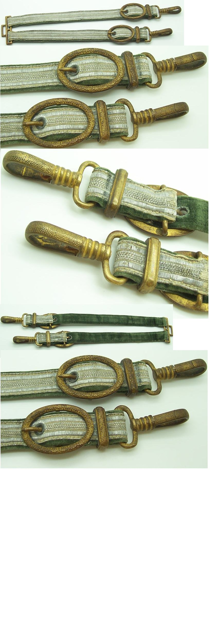 Rare Early Army General's hangers in tombak