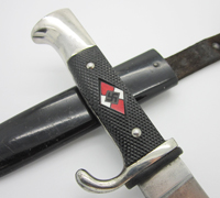 Transitional Hitler Youth Knife by F.W. H?ller