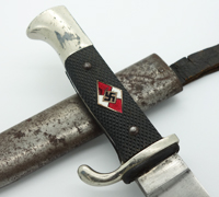 Transitional Hitler Youth Knife by Carl Eickhorn