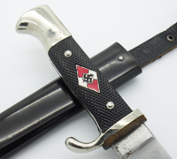 Transitional Hitler Youth Knife by RZM M7/83