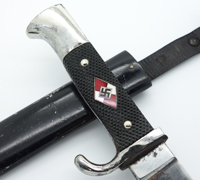 Transitional Hitler Youth Knife by RZM M7/1 1938