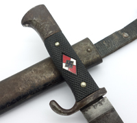 Transitional Hitler Youth Knife by Eduard Gembruch