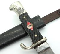 Transitional Hitler Youth Knife by A. Schüttelhöfer