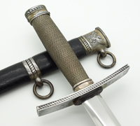 Hitler Youth Leader Dagger by RZM M7/36