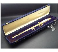 Cased Royal Italian Navy Cadet Dagger 1929