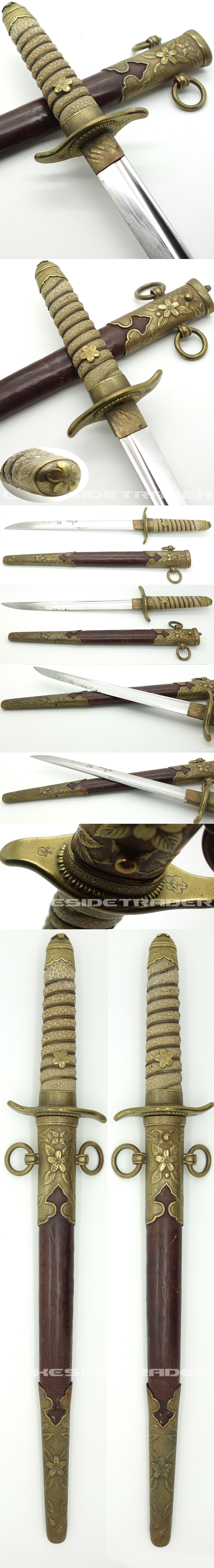 Early Japanese Navy Dirk