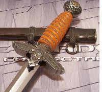 Gilt 2nd Model Luft Dagger by Eickhorn