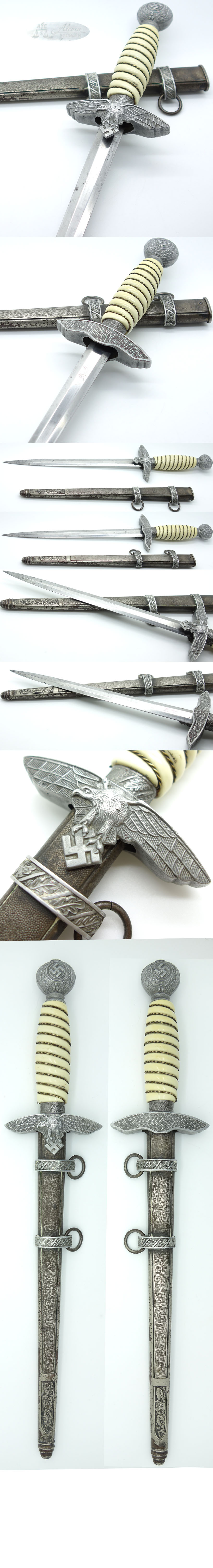 Alcoso 2nd Model Luftwaffe Dagger