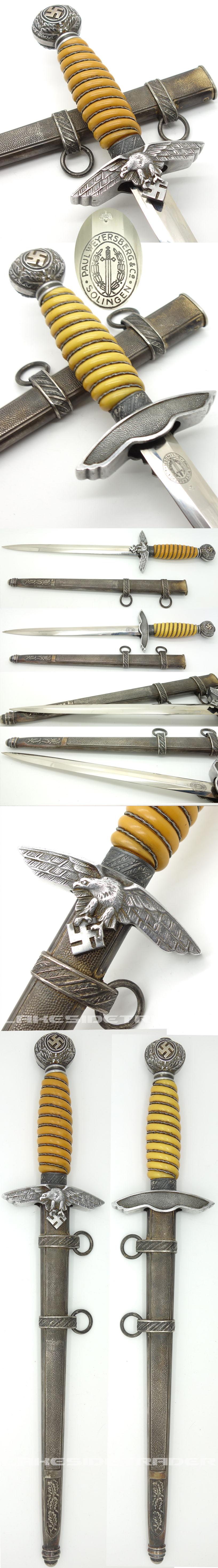 2nd Model Luftwaffe Dagger by P. Weyersberg