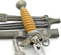 2nd Model Luftwaffe Dagger by SMF w Accouterments
