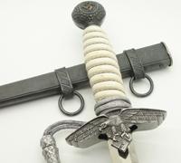Voos Etched Blade & Bone Grip - 2nd Model Luftwaffe Dagger
