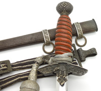 2nd Model Luftwaffe Dagger - Full Rig