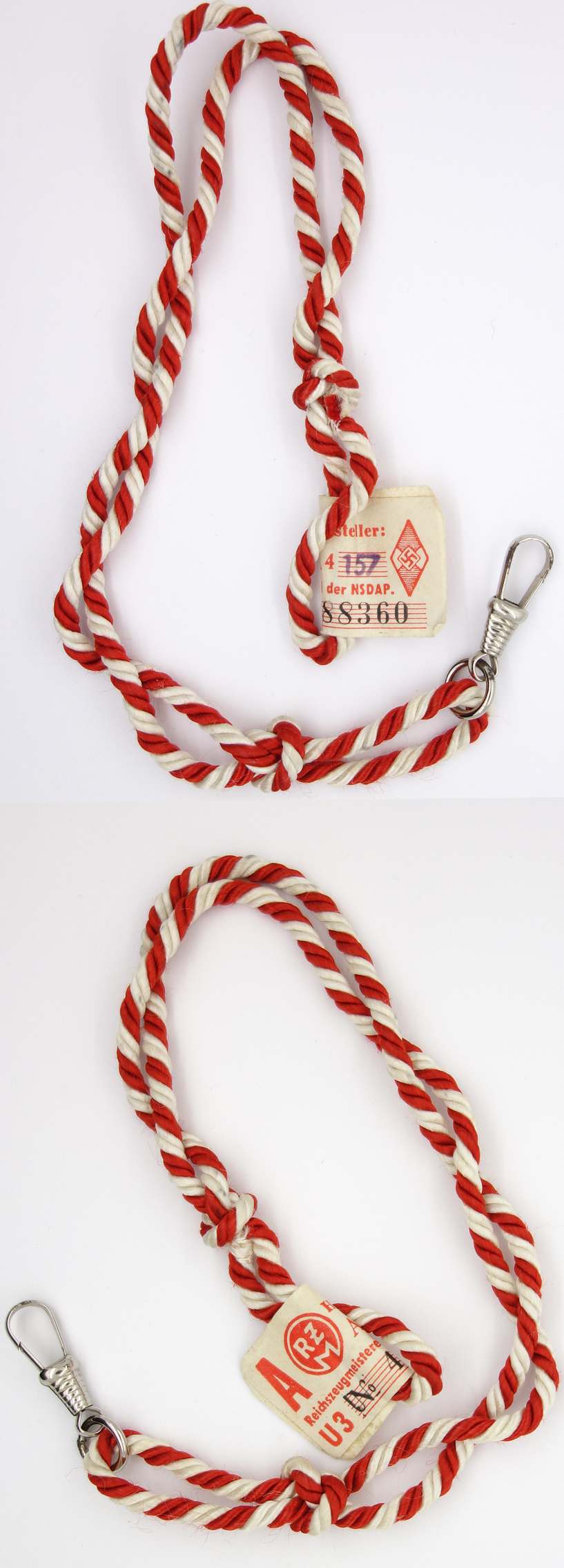 Tagged HJ/DL leader Lanyard