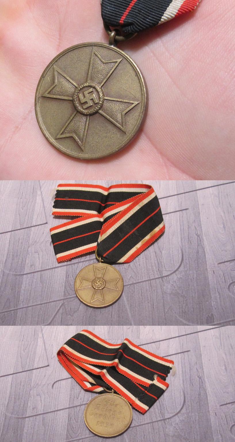 1939 War Merit Medal