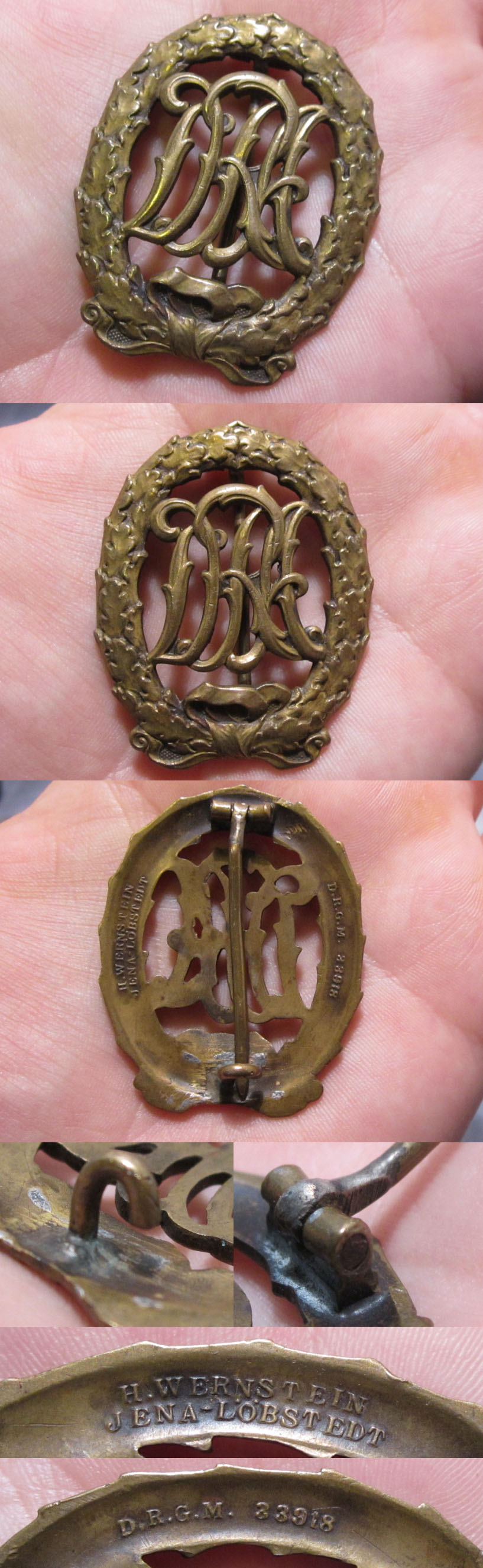 Bronze DRA Sports Badge