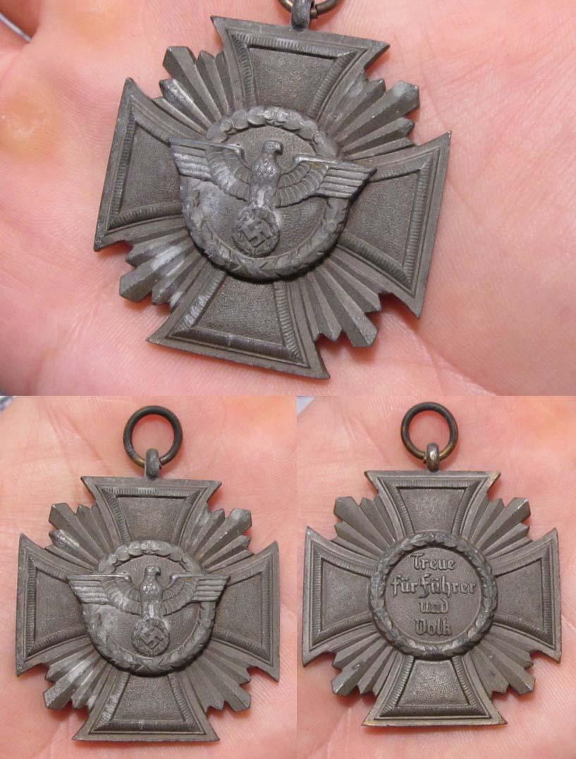 NSDAP 10 Year Long Service