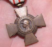 French Combatants Cross