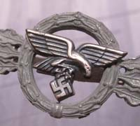Silver Transport Pilot Clasp
