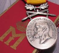 Romanian Manhood and Faithfulness Medal