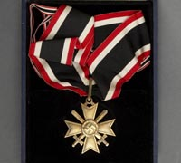 Cased Golden Knights Cross of the War Merit Cross