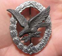 Radio Operator/Air Gunner Badge by B&NL
