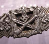Silver Close Combat Clasp by F&BL