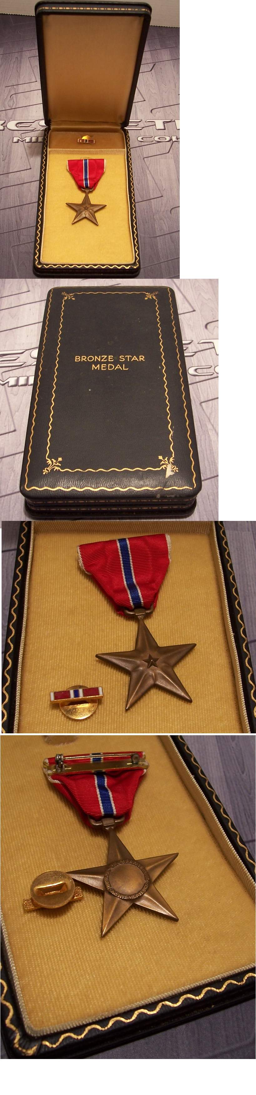 Cased US Bronze Star