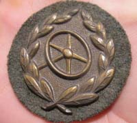 Army Bronze Drivers Proficiency Badge
