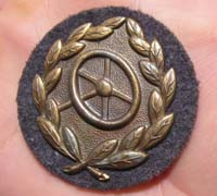 Luftwaffe Bronze Drivers Proficiency Badge