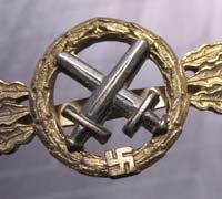 Gold Air to Ground Support Clasp by G.H. Osang