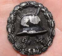 Imperial Black Wound Badge