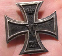 Field Modified 1st Class Imperial Iron Cross