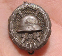 Miniature Imperial Silver Wound Badge