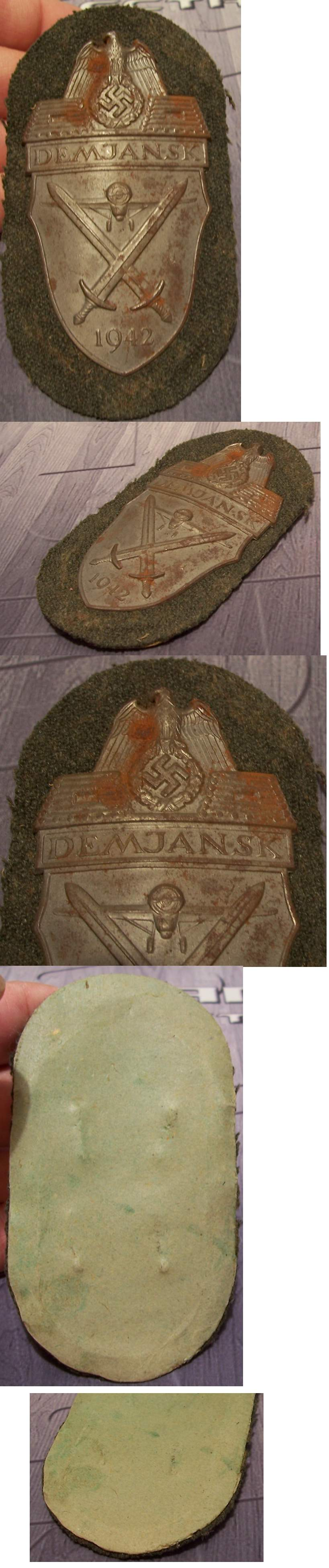 Army Demjansk Shield