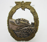 Navy 1st Pattern E-Boat Badge by Schwerin