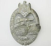Silver Panzer Assault Badge by Adolf Scholze