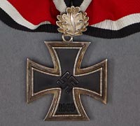 Oak Leaves, Knights, German, Iron Cross & Spange