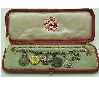 Cased Miniature Imperial Medals grouping