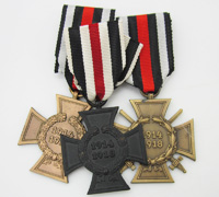 Thee Piece Hindenburg Cross Grouping