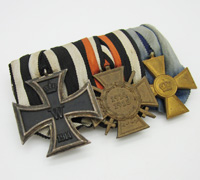 Imperial Three Piece Medal Bar