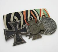 Imperial Three Piece Medal Bar