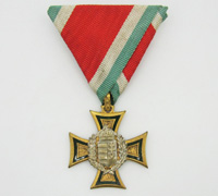 Hungarian 25 Year Long Service Cross